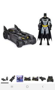 Amazon: BATMAN Y Batimóvil, Figura 30cm, Multicolor