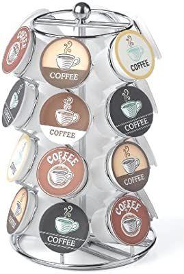 Amazon: NIFTY 5724B - Organizador giratorio compatible con K-Cup para cápsulas de café