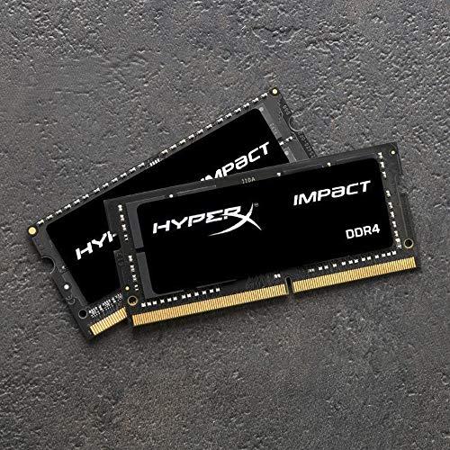Amazon: Memoria RAM HyperX Impact DDR4 CL20 SODIMM 32 GB (2 x 16 GB) 3200 MHz