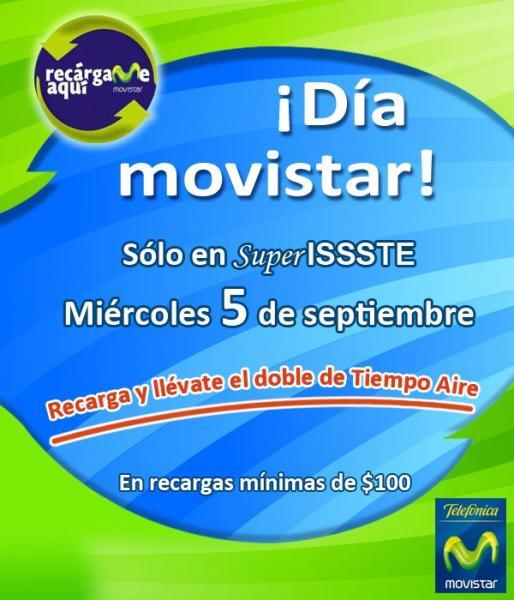 Día Movistar 5 de septiembre y Recarga SOS