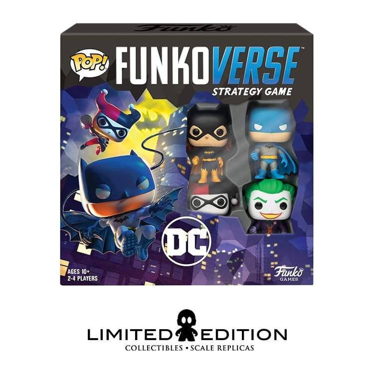 Limited Edition: Funko Pop Juego de Estategia Funkoverse Dc Comics