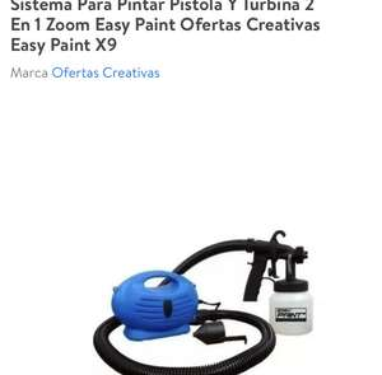 Walmart: Sistema para pintar
