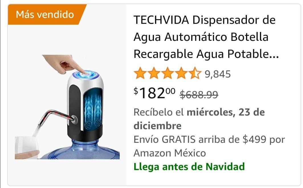 Amazon: Dispensador de agua de $688.99 a $182.00