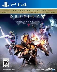 Walmart en línea: Destiny The Taken King PS4
