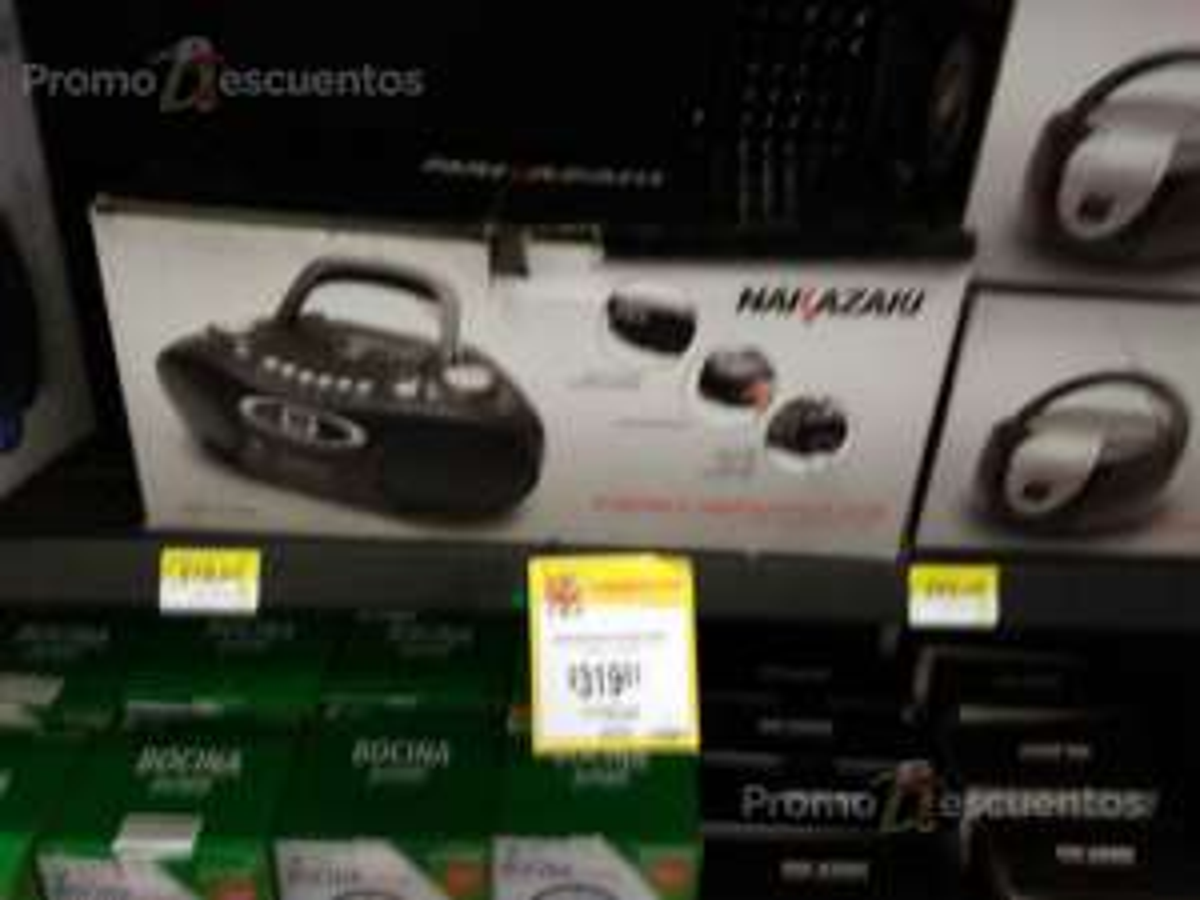 Walmart: más liquidaciones .02 y .03 radiograbadora, barras de sonido, audífonos, juego Lego Dimensions, panini grill, waflera, tetera, platos, saleros, set para fondue, copas para agua  y mucho más