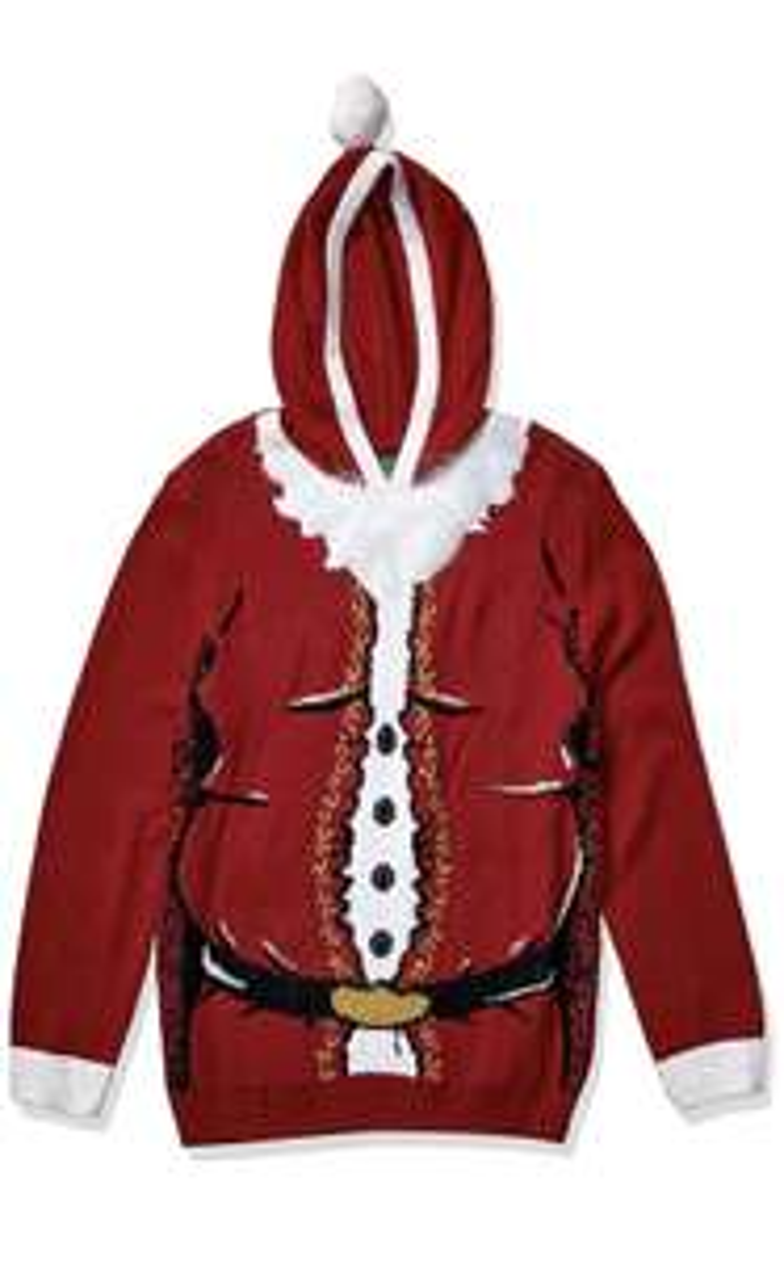 Amazon - Suéter feo de Santa Navidad