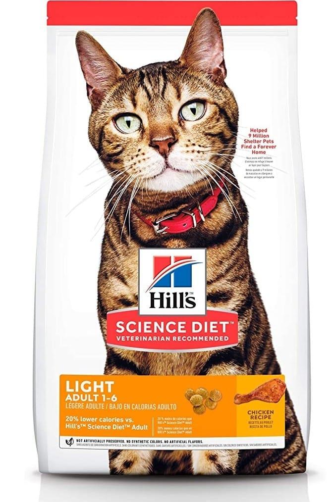 Amazon: Alimento para Gato gordo Hill's Science Diet adulto original Light 7.3kg (compra mínima 2)