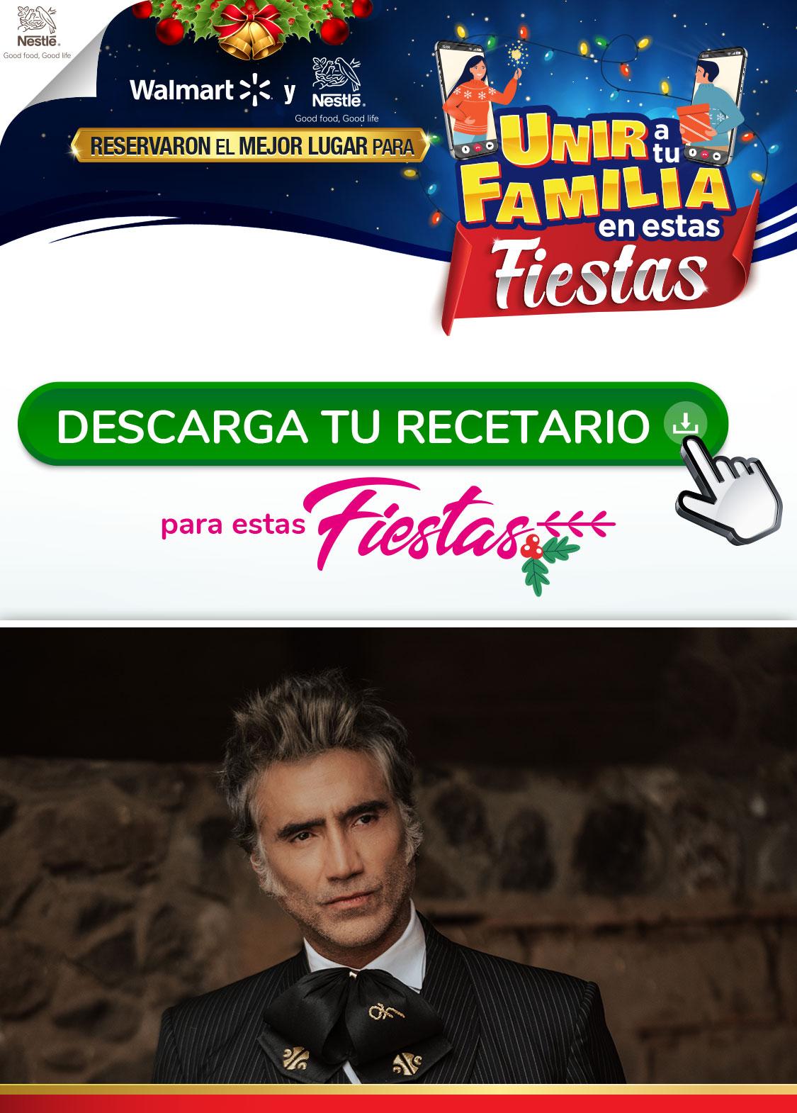 Concierto de Navidad de Alejandro Fernández que se realizará el 31 de diciembre de 2020 a las 20.00 horas