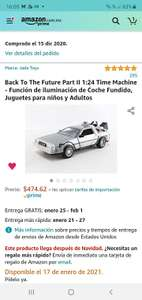 Amazon: Delorean con luz