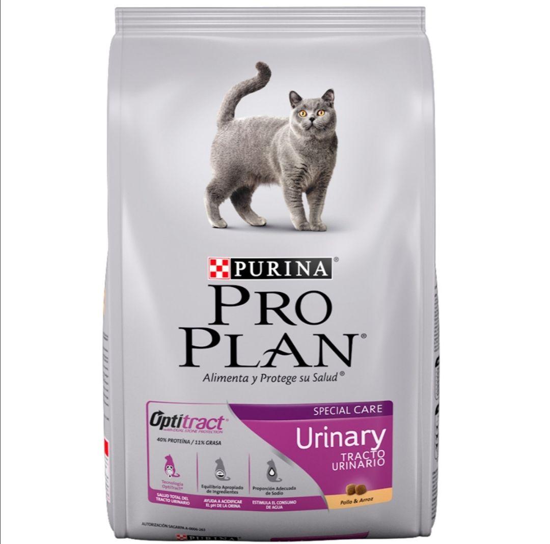 Petco: Pro Plan Urinary Alimento Seco para Gato Adulto Receta Pollo y Arroz, 3 kg