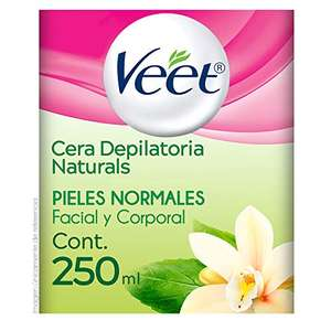Amazon: Veet Naturals Cera depilatoria 250ml con Planea y Ahorra