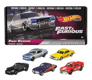 Amazon - Set 5 pz Hot Wheels Fast And Furious