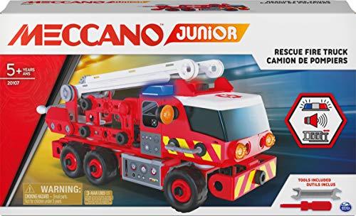Amazon: MECCANO JR Camión de Bomberos, Multicolor