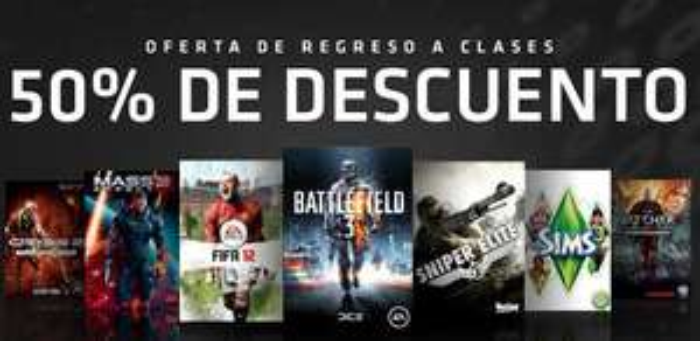 Videojuegos PC: FIFA 12 a $99.50, Battlefield 3 a $199.50, Mass Effect 3 a $249.50, Dragon Age 2 a $49.50 y más