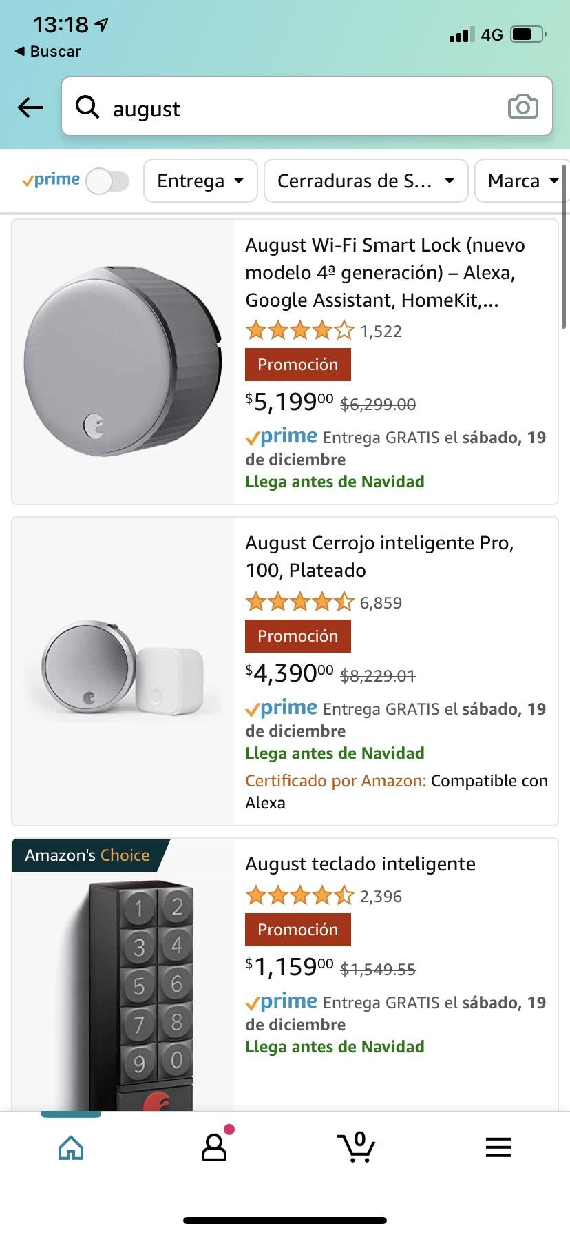 Amazon: August wifi smart lock