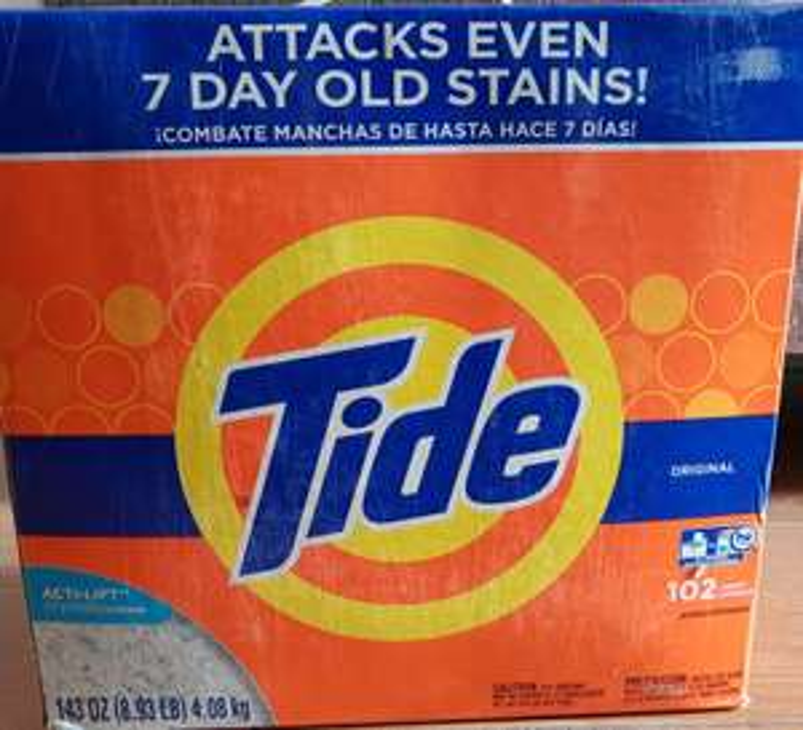 Superama Oliplaza CDMX, detergente Tide