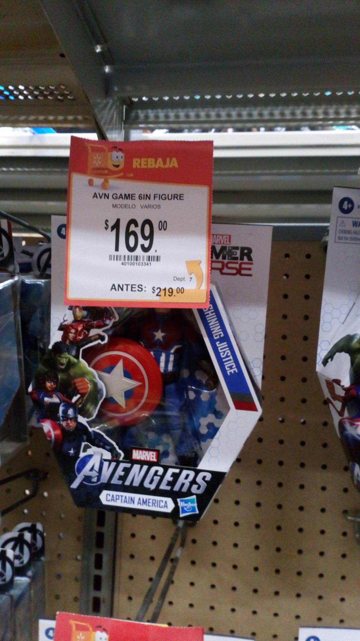 "Walmart plaza san roque: Avenger game 6"""