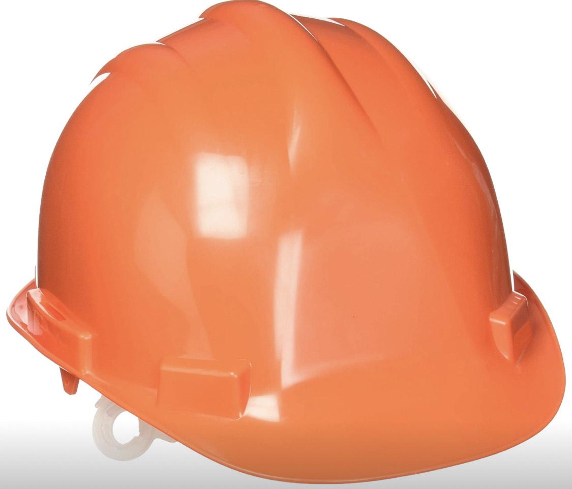Amazon: Toolcraft Casco de Seguridad, color Naranja