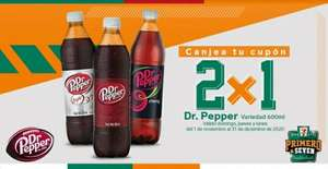 7 Eleven: Dr Pepper 600 ml al 2x1