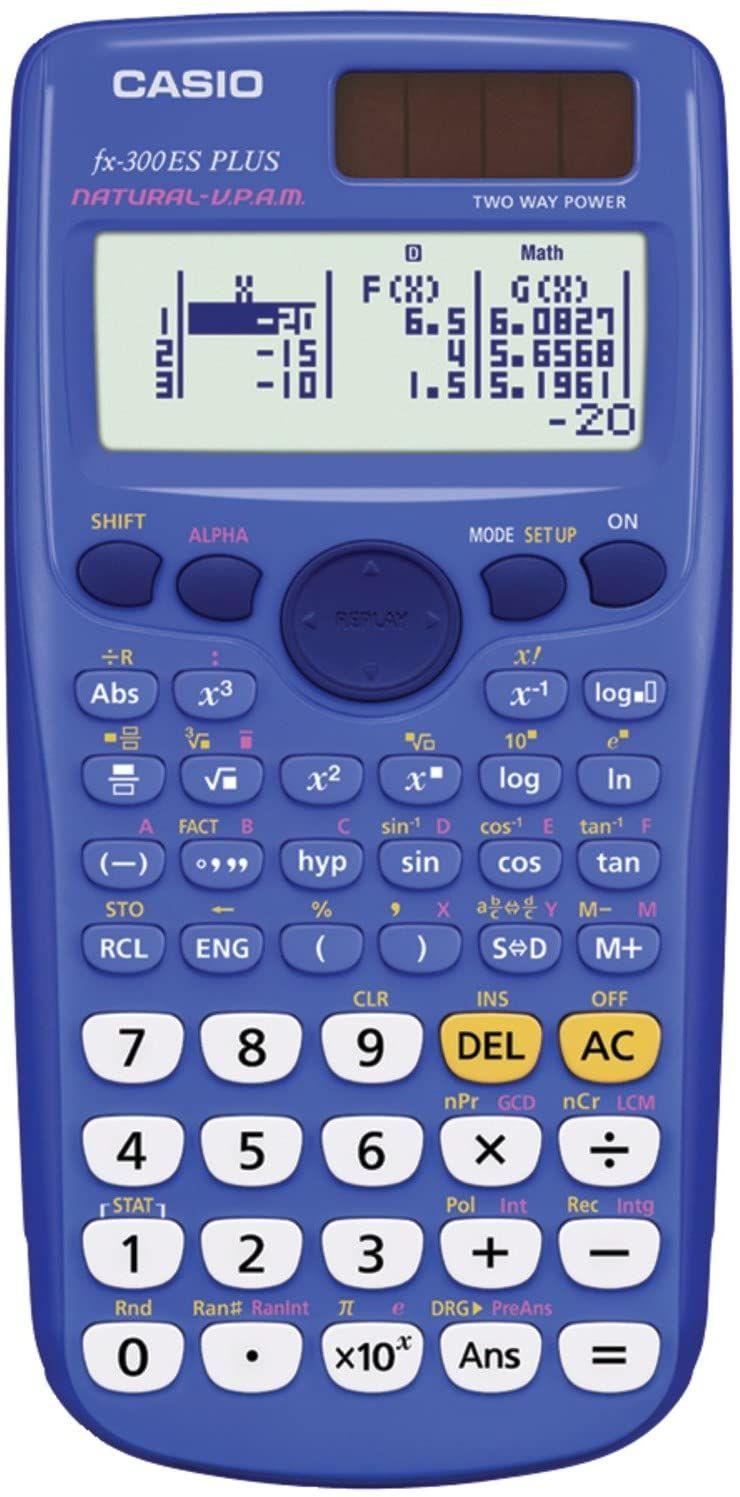 Amazon - Calculadora cientifica CASIO