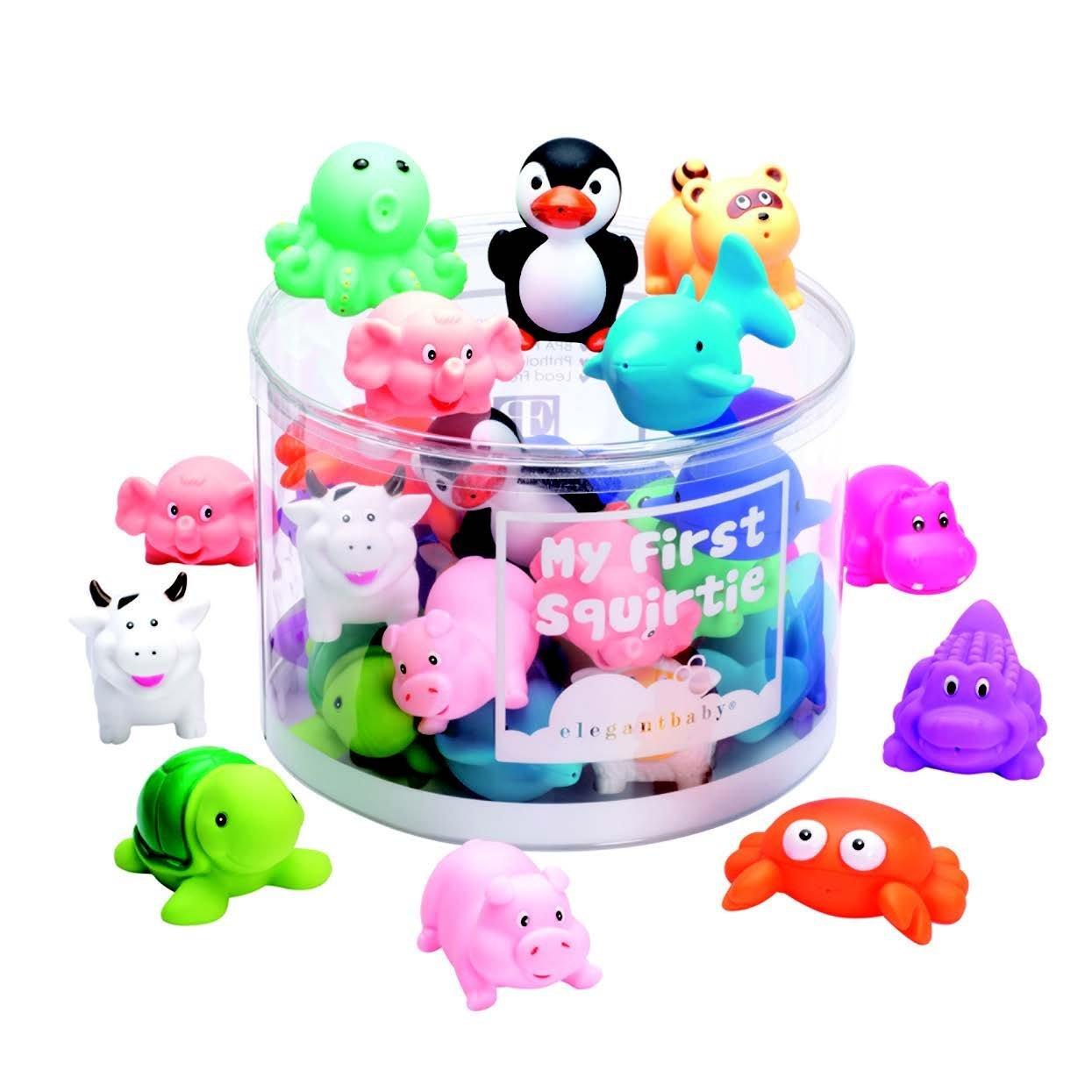 Amazon: Set de juguetes de baño para bebé (30 piezas)
