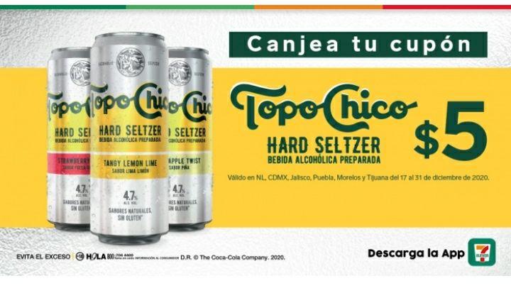7 Eleven: Topo Chico Hard Seltzer