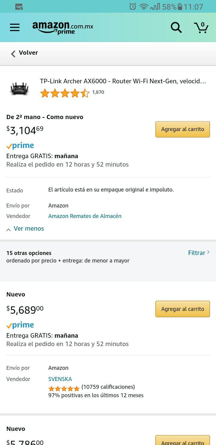 Amazon, Archer AX6000