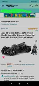 Amazon: Batman 2015 Arkham Knight Batmobile & Batman
