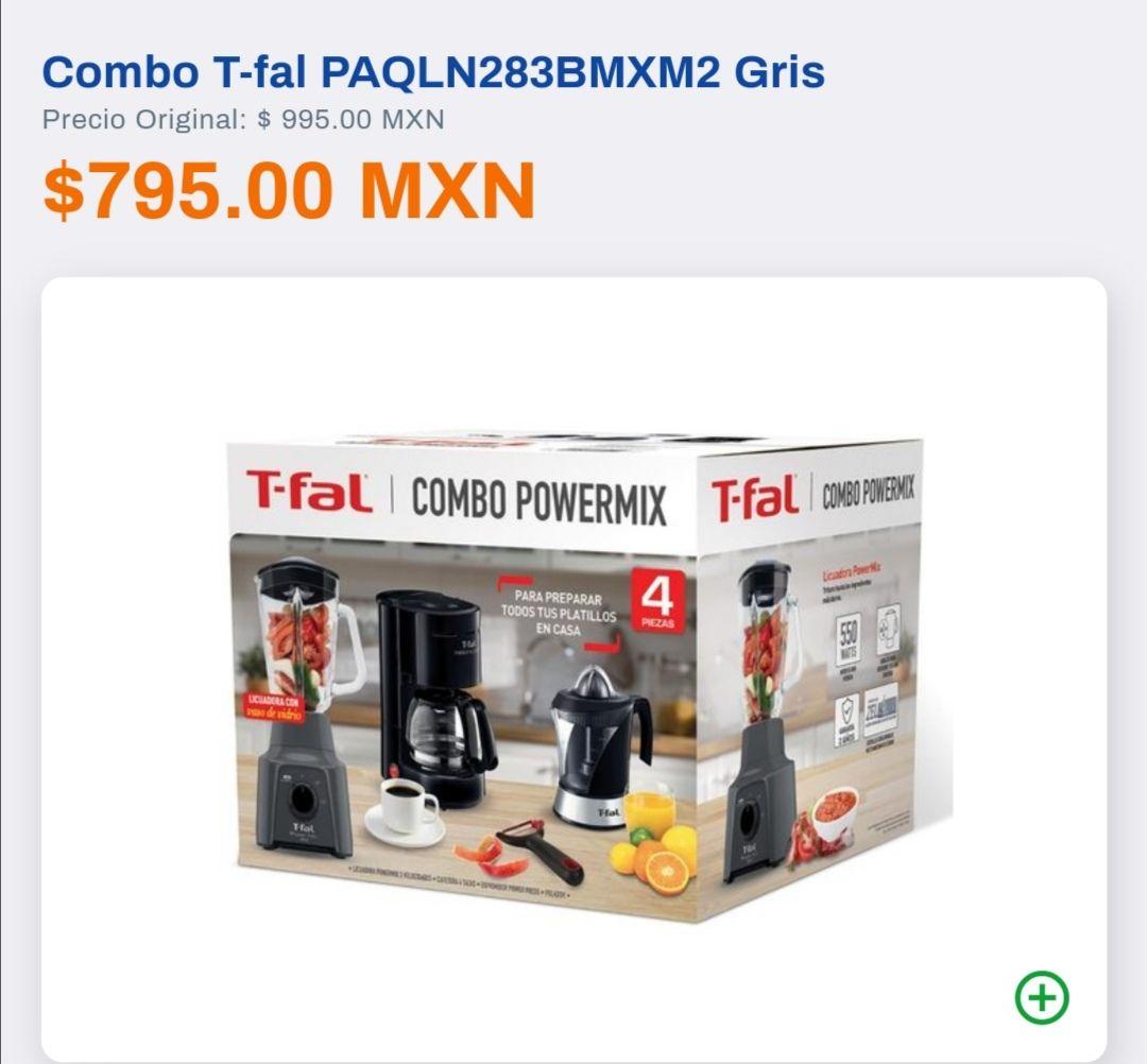 Chedraui - T-fal Combo Powermix 4pzas