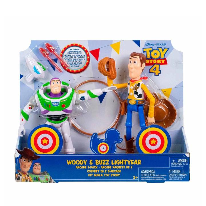 Sam's Club: Figuras de Acción Mattel Disney Woody y Buzz Lightyear