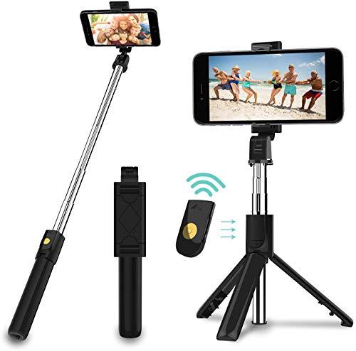 Amazon: Palo de Selfie, Trípode Selfie Stick con Control remoto Bluetooth ($183) Oferta relámpago