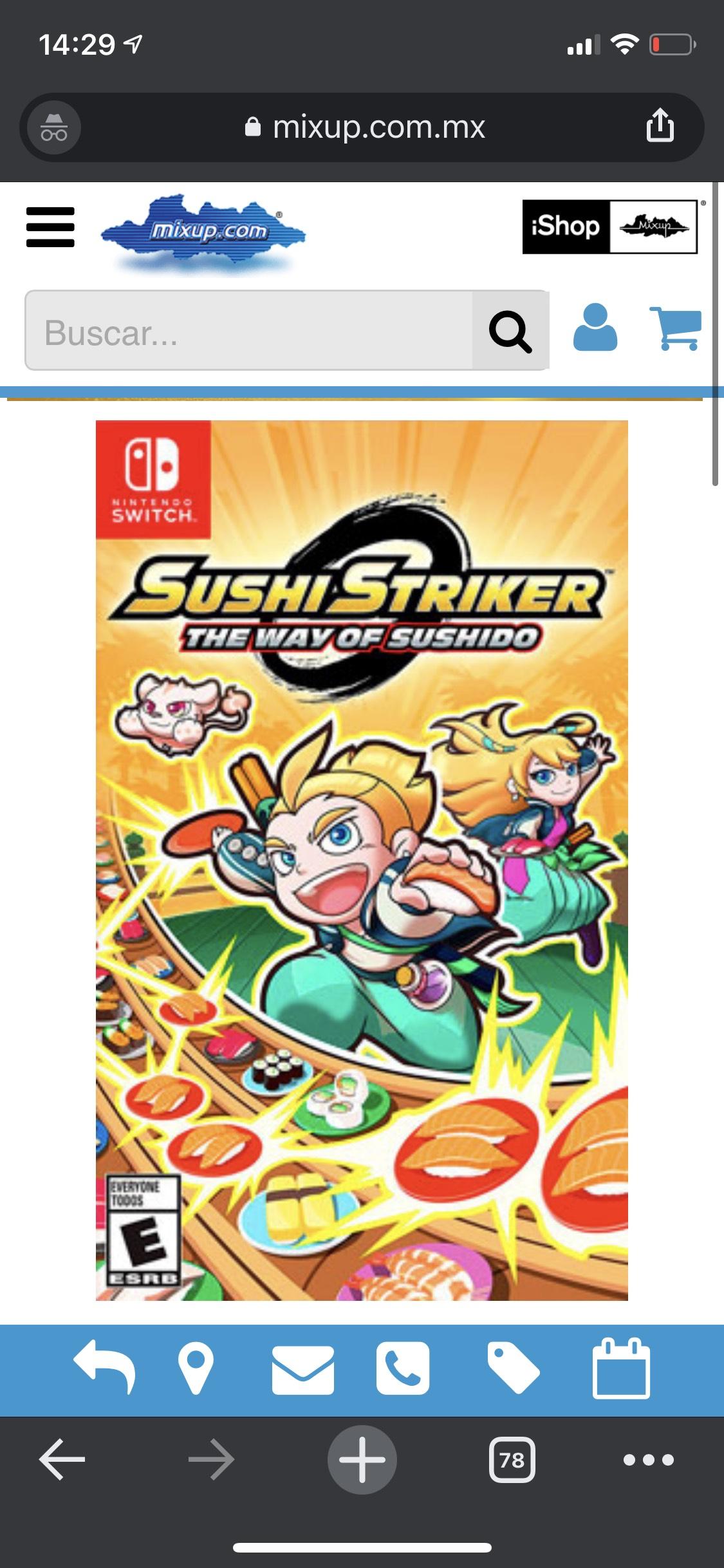 Nintendo Switch, Sushi Striker en Mixup