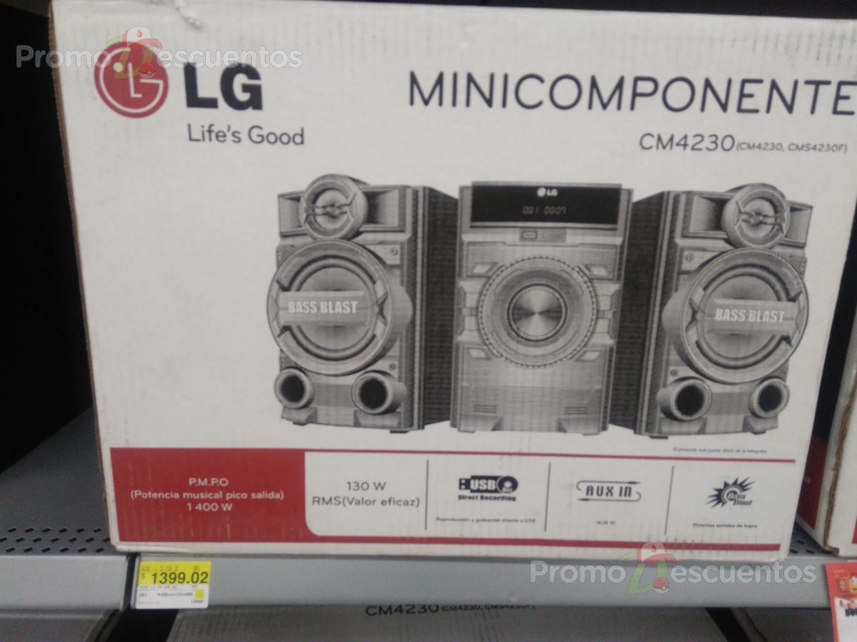 Walmart Acueducto: liquidaciones de  minicomponente LG CM4230, minicomponente Panasonic X-boom, herméticos, ventiladores, cuchillos, banco de cocina, set de repisas y mucho más