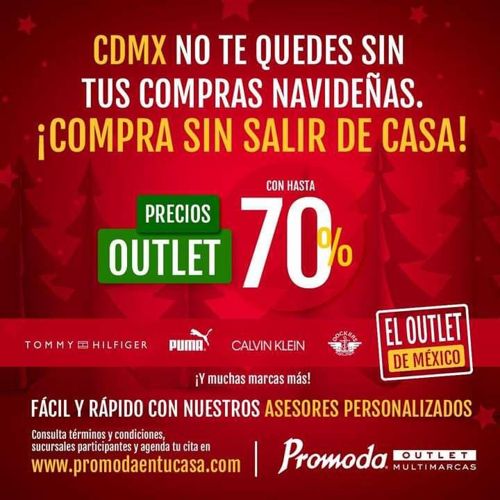 Promoda Outlet con hasta 70% de descuento