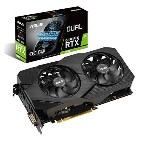 Amazon: Tarjeta de video ASUS Nvidia GeForce Gtx 2060 EVO OC