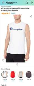 Amazon - Playera sin mangas Champion (Talla M)