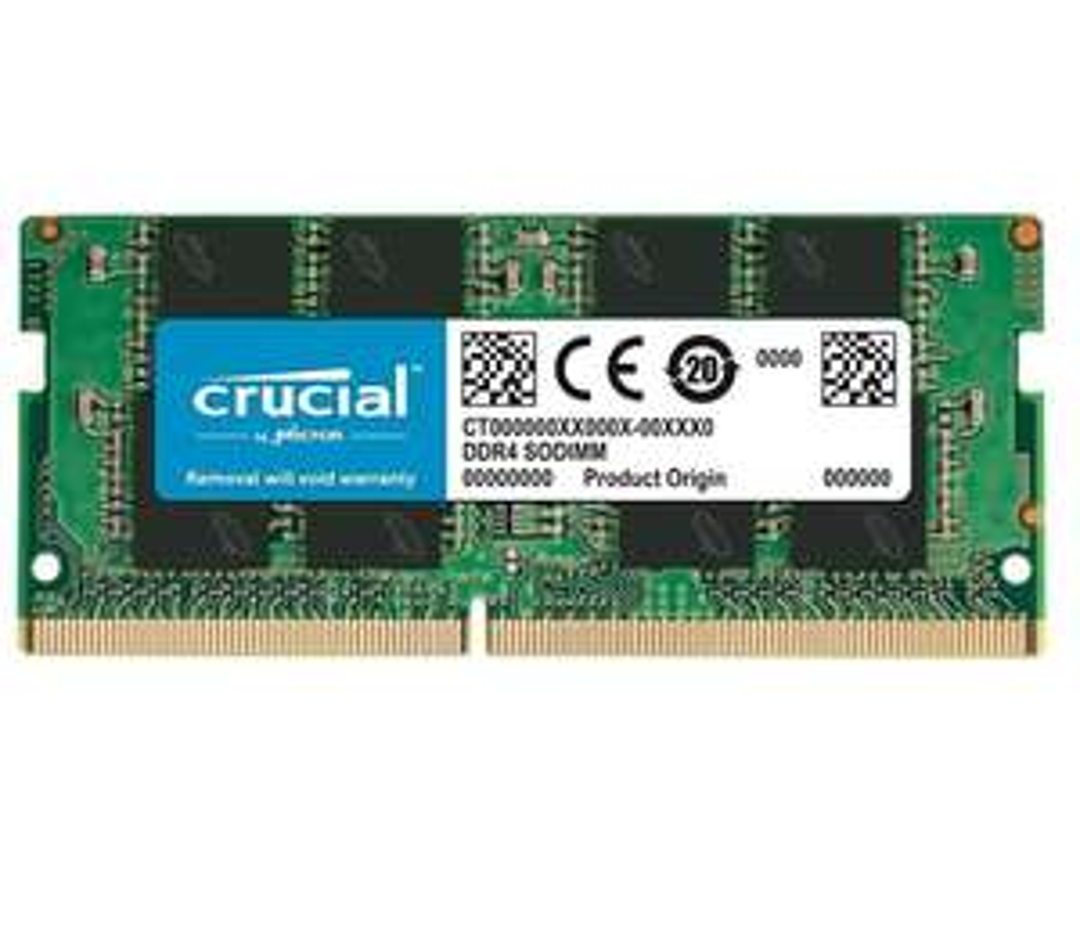 Amazon: Memoria RAM DDR4 Crucial 8 GB 2400 MHz para LAPTOP