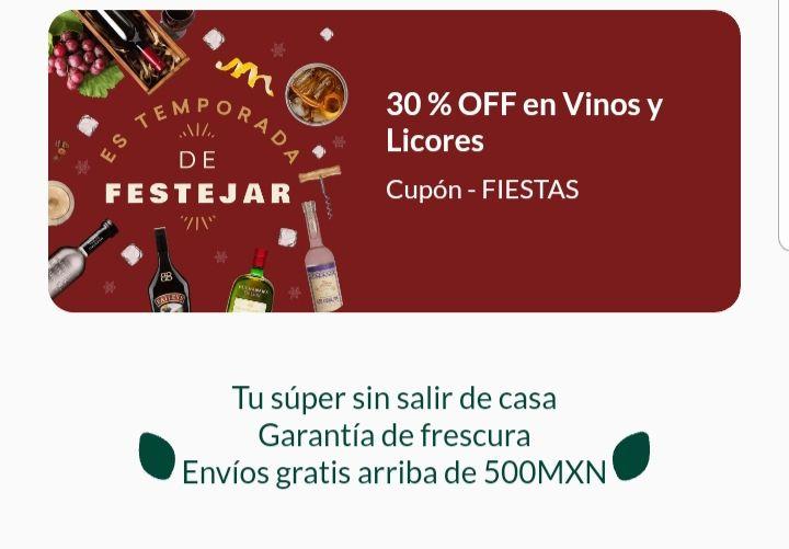 Jüsto: 30% descuento en vinos y licores