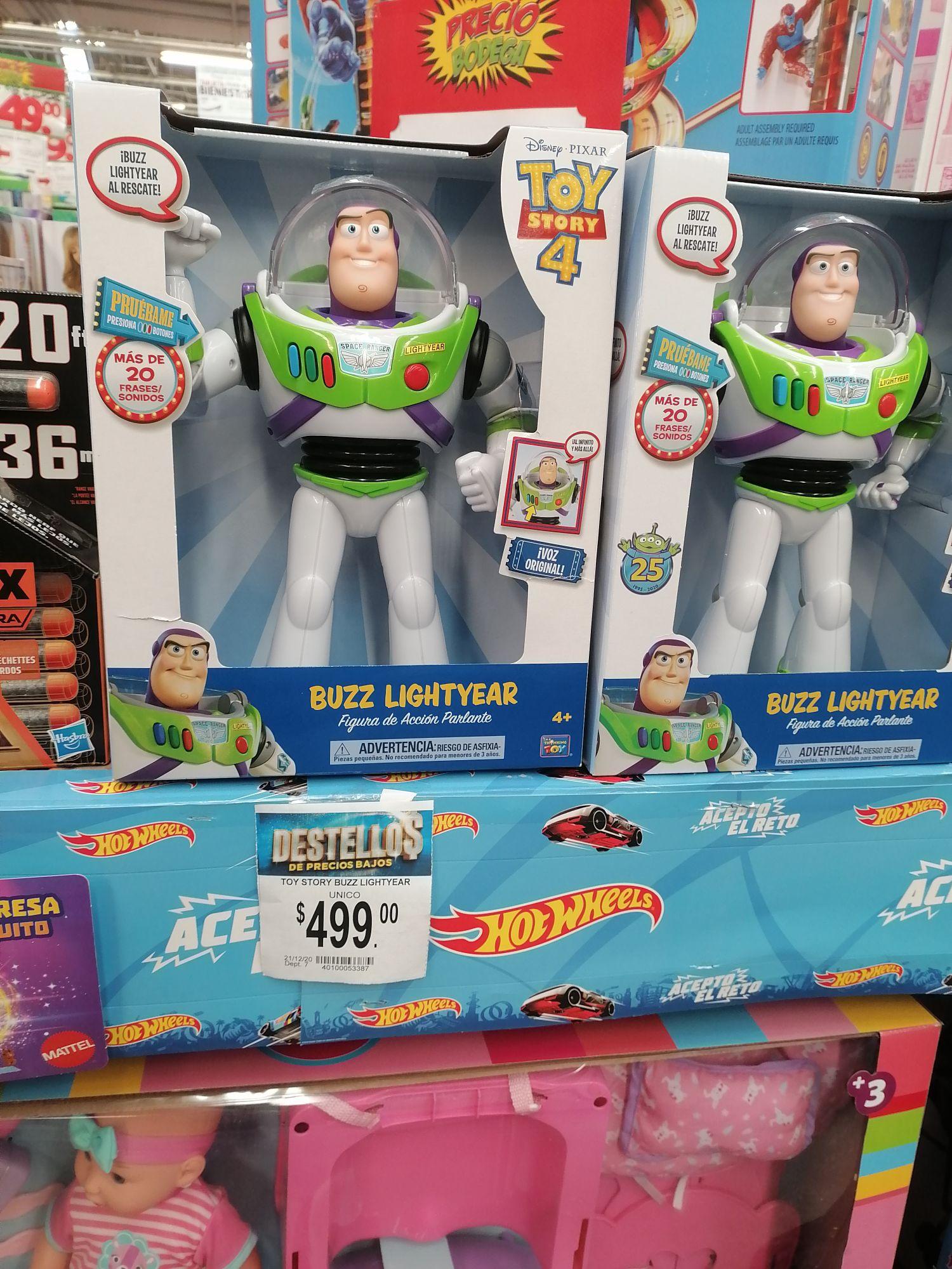 Bodega Aurrera Cuautitlán: Buzz Lightyear