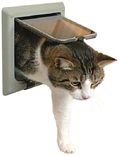 Amazon: TRIXIE Puerta para gatos, de 4 posiciones.