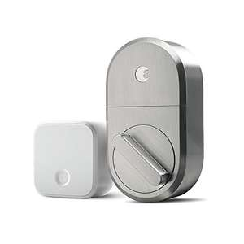 Amazon: August Smart Lock Cerradura inteligente de tecnología de 3ª generación, Níquel Satinado