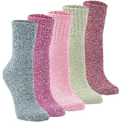 amazon Calcetines de lana 5 pares