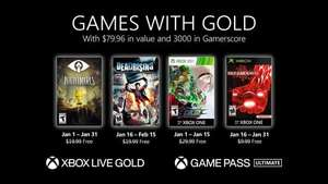 Xbox Game with Gold Enero 2021