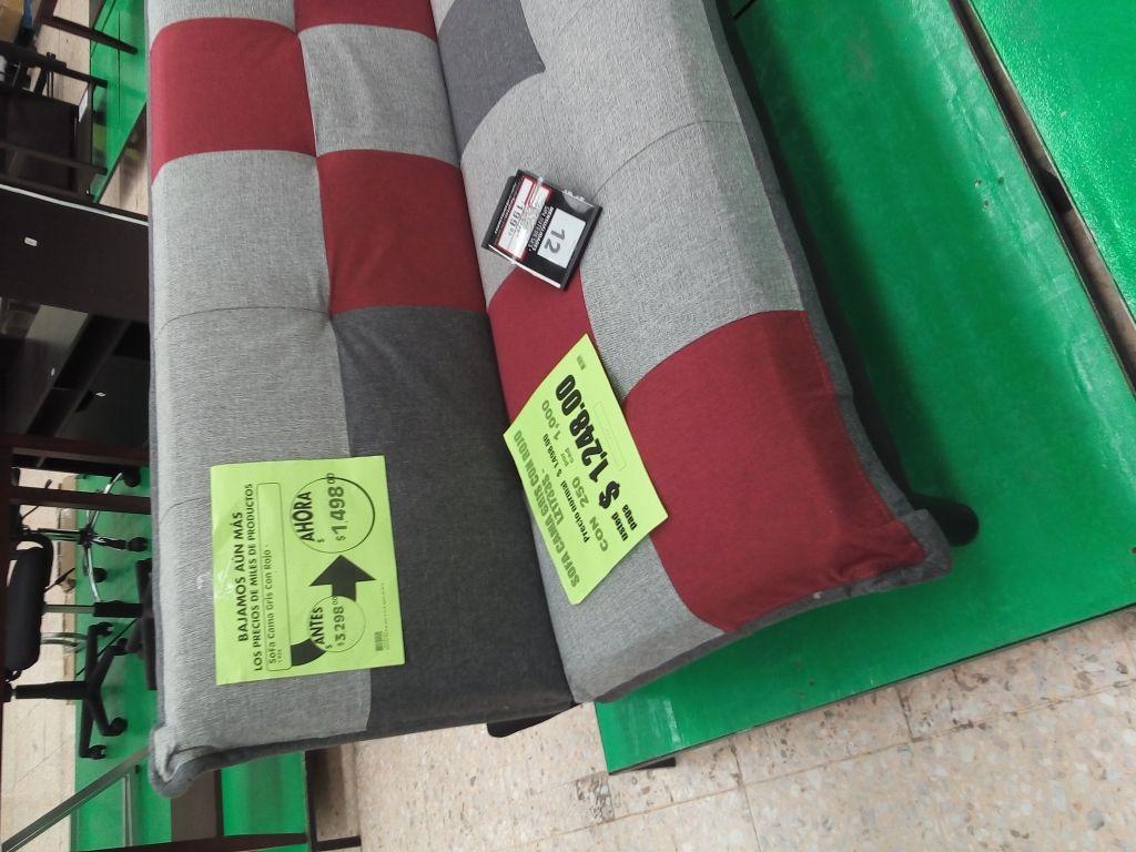 Comercial Mexicana San Pedro, Puebla: sofa cama a $1,248