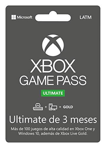 Amazon: Xbox Game Pass Ultimate 3 meses.