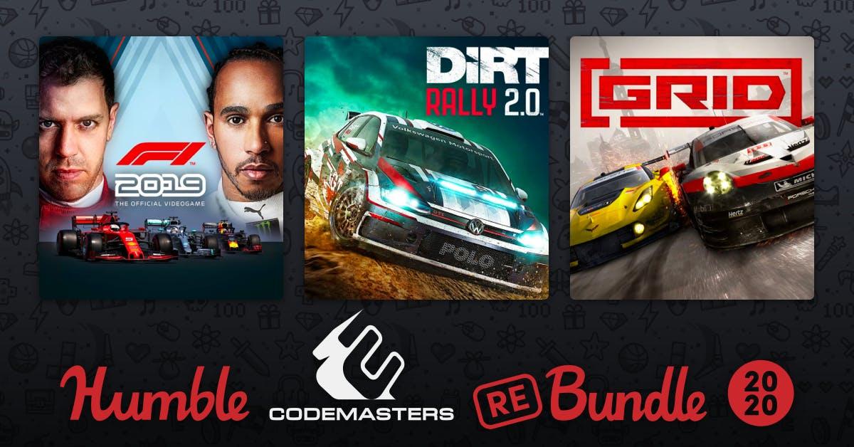 Humble Bundle: Codemasters Racing Rebundle