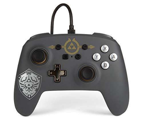 Amazon: Control alámbrico para Nintendo Switch - Hylian Shield - Standard Edition