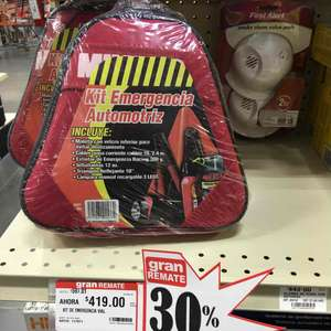 Home Depot: kit de emergencia a $419