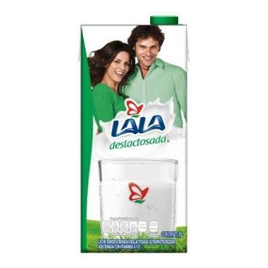 Oxxo Cuernavaca: leche Lala deslactosada $15.50
