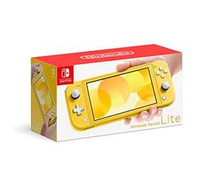 Amazon: Nintendo Switch lite Amarilla